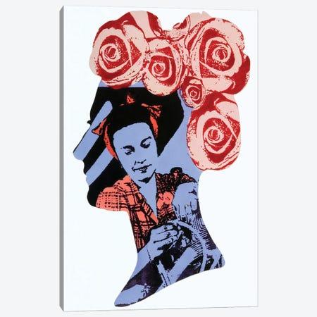 Rosie 3-Piece Canvas #LMD36} by Laura Mae Dooris Art Print