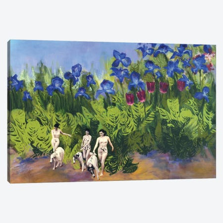Shangri La Canvas Print #LMD37} by Laura Mae Dooris Canvas Art Print