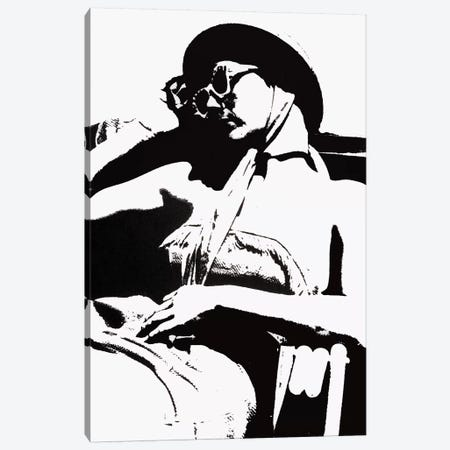 Sunbather Canvas Print #LMD38} by Laura Mae Dooris Canvas Art
