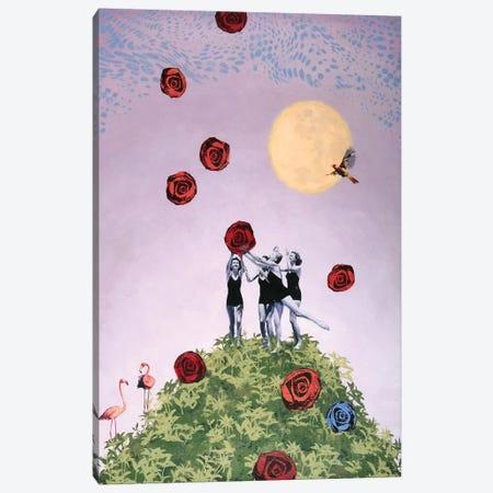 Whimsy Canvas Print #LMD42} by Laura Mae Dooris Art Print