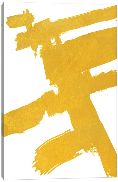 Abstract Sketch VIII Canvas Art Print