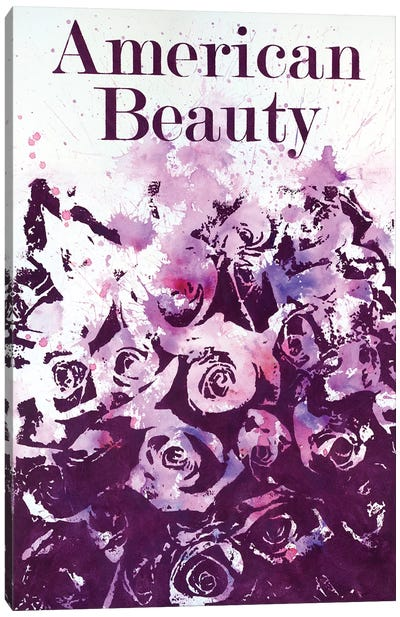 American Beauty I Canvas Art Print