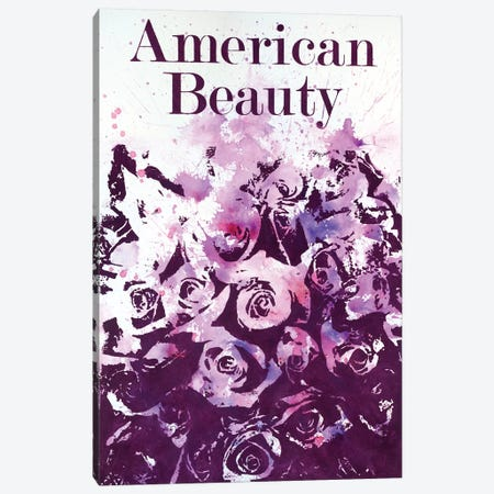 American Beauty I Canvas Print #LMD9} by Laura Mae Dooris Canvas Wall Art