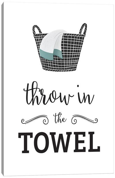 Throw in Towel Canvas Art Print