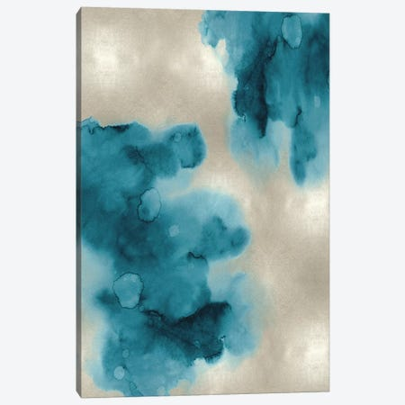 Entice in Aqua I Canvas Print #LMI12} by Lauren Mitchell Canvas Print