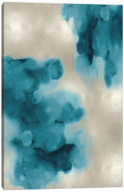 Entice in Aqua I Canvas Art Print