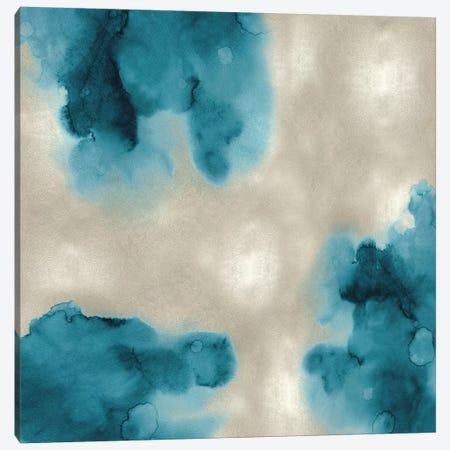 Entice in Aqua II Canvas Print #LMI13} by Lauren Mitchell Canvas Art Print