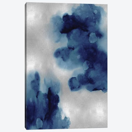 Entice in Indigo I Canvas Print #LMI14} by Lauren Mitchell Canvas Artwork