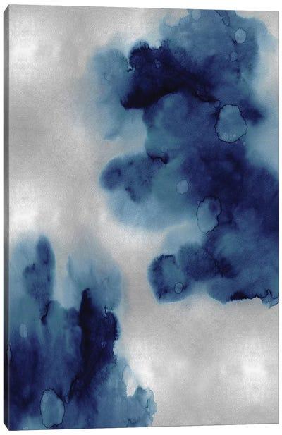 Entice in Indigo I Canvas Art Print