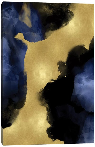 Midnight Gold I Canvas Art Print