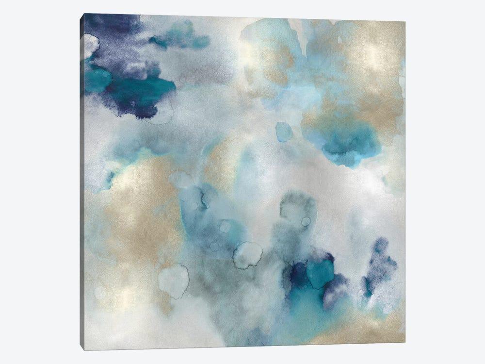 Aqua Movement I by Lauren Mitchell 1-piece Art Print