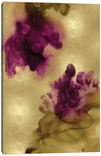 Tempting in Gold Canvas Art Print