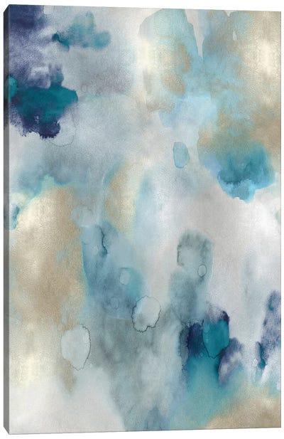 Whipser in Aqua V Canvas Art Print
