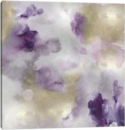 Whisper in Amethyst I Canvas Art Print