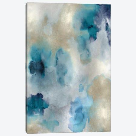 Whisper in Aqua II Canvas Print #LMI29} by Lauren Mitchell Canvas Wall Art