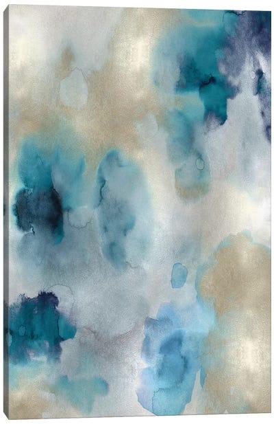 Whisper in Aqua II Canvas Art Print