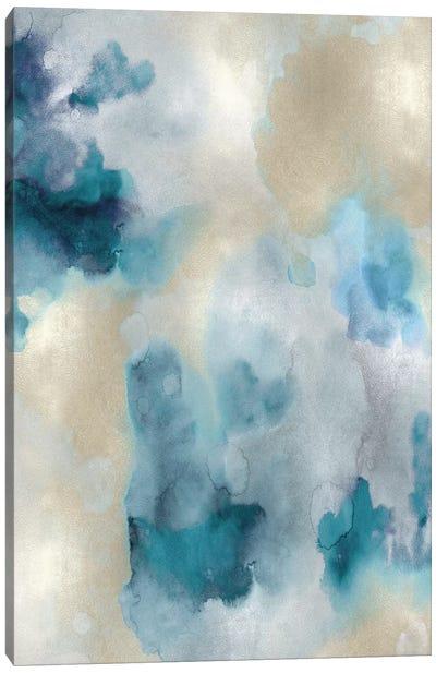 Whisper in Aqua IV Canvas Art Print
