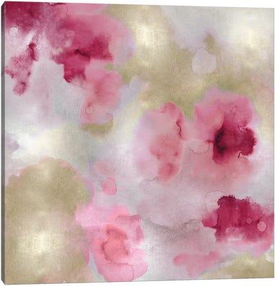 Whisper in Blush I Canvas Art Print