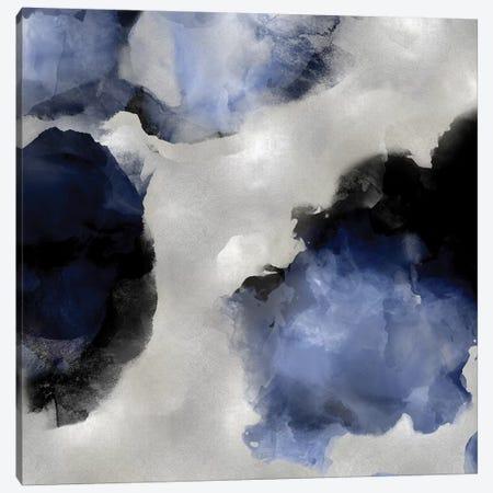 Whisper in Indigo III Canvas Print #LMI39} by Lauren Mitchell Canvas Print