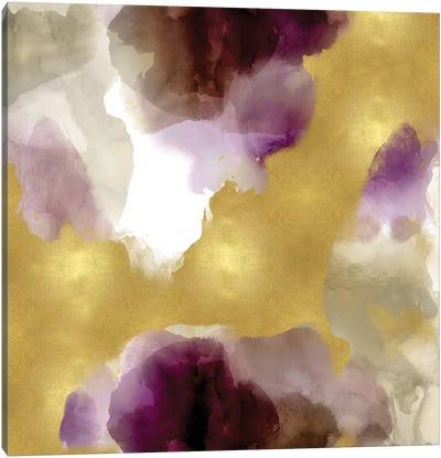 Whisper in Plum Canvas Art Print