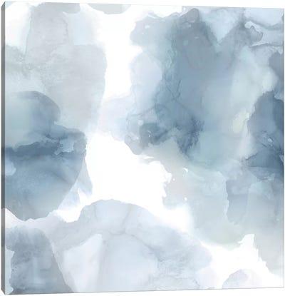 Elevate in Blue Canvas Art Print