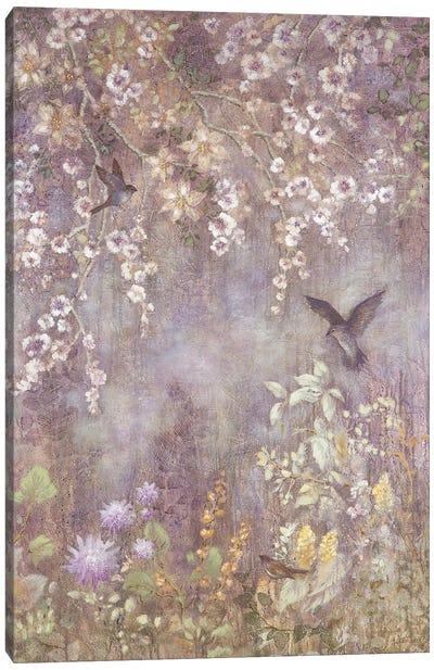 Twilight Garden Canvas Art Print