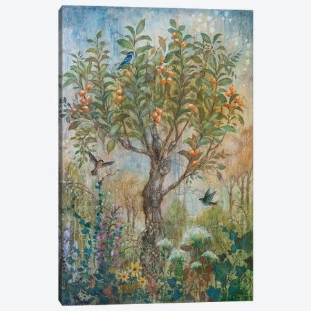 Apricot Enchantment Canvas Print #LMK17} by Lisa Marie Kindley Canvas Art