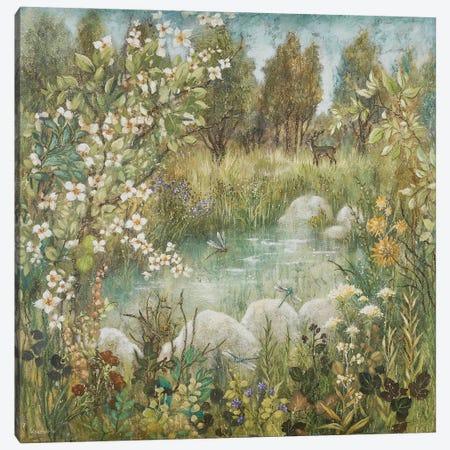 Enchanted Pond Canvas Print #LMK1} by Lisa Marie Kindley Canvas Print
