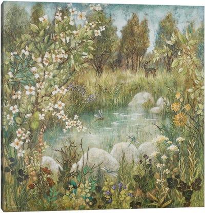 Enchanted Pond Canvas Art Print