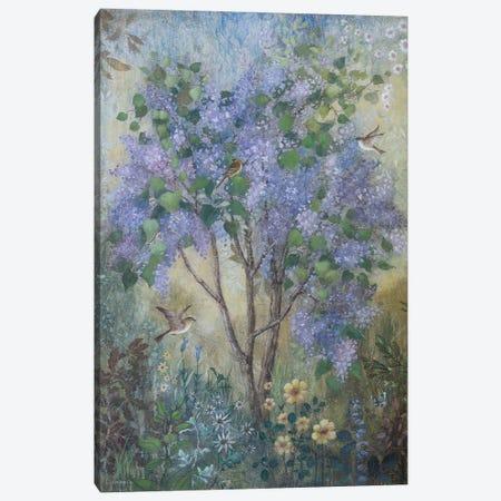 Fresh Lilacs Canvas Print #LMK22} by Lisa Marie Kindley Canvas Art