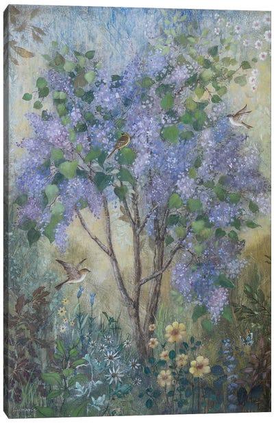 Fresh Lilacs Canvas Art Print
