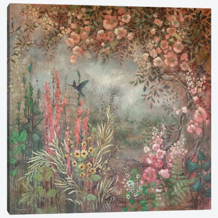 Lush Roses Canvas Print #LMK24} by Lisa Marie Kindley Canvas Print