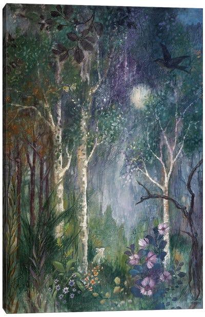 Moon Rabbit Canvas Art Print