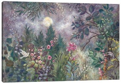 Moonflight Canvas Art Print