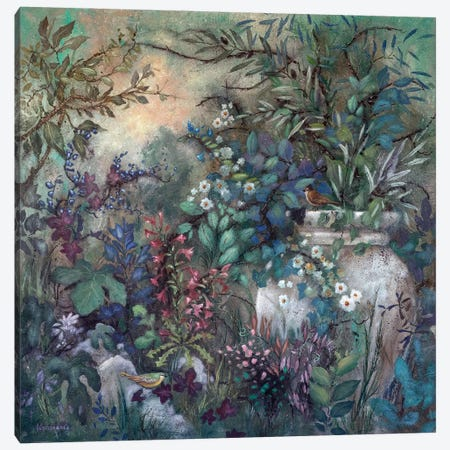Secret Garden Canvas Print #LMK29} by Lisa Marie Kindley Canvas Art
