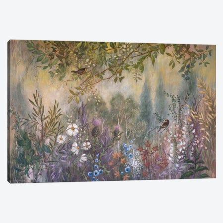 Wild Garden Tangle Canvas Print #LMK33} by Lisa Marie Kindley Canvas Print