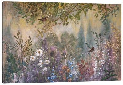 Wild Garden Tangle Canvas Art Print