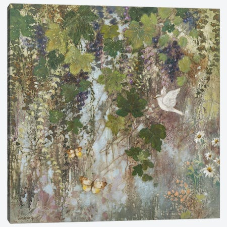 Magic of the Vines Canvas Print #LMK34} by Lisa Marie Kindley Canvas Wall Art
