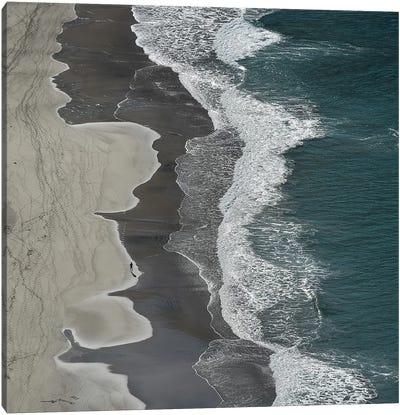 Running waves Canvas Art Print