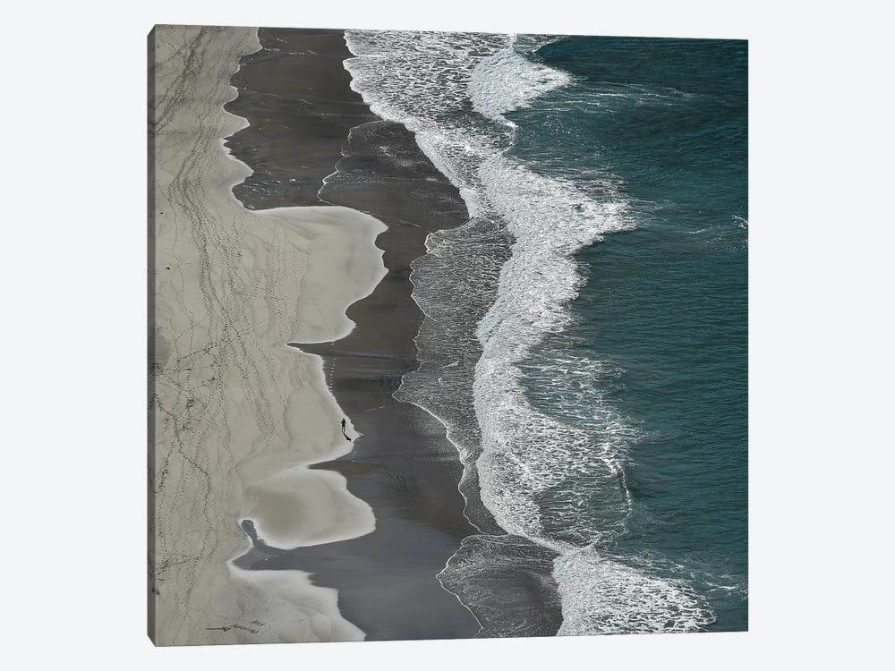 Running waves by Lex Molenaar 1-piece Canvas Artwork