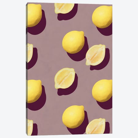 Fruit XIX Canvas Print #LMO100} by LEEMO Canvas Artwork