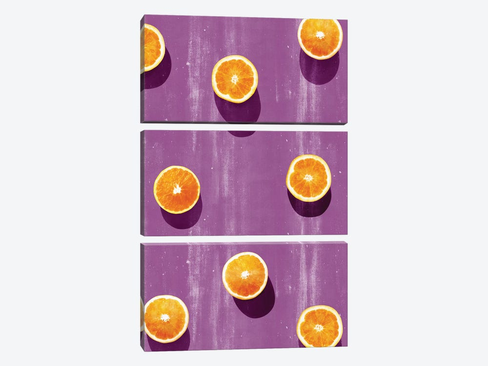 Fruit V-I by LEEMO 3-piece Canvas Print