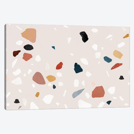 Painted Terrazzo IV Canvas Print #LMO117} by LEEMO Canvas Wall Art