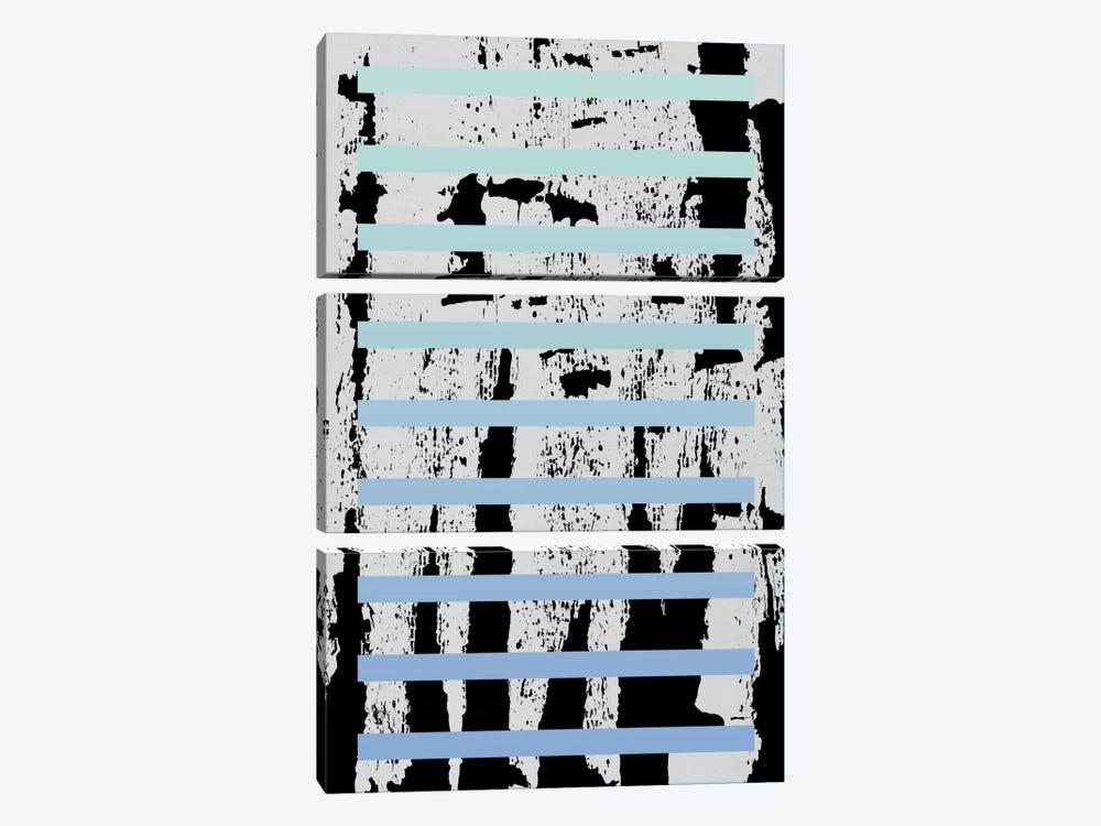 Blocks III by LEEMO 3-piece Canvas Artwork