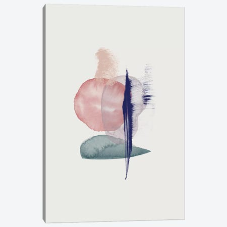 Connection Canvas Print #LMO143} by LEEMO Canvas Wall Art