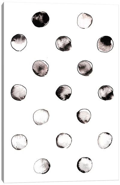 Circles Canvas Art Print