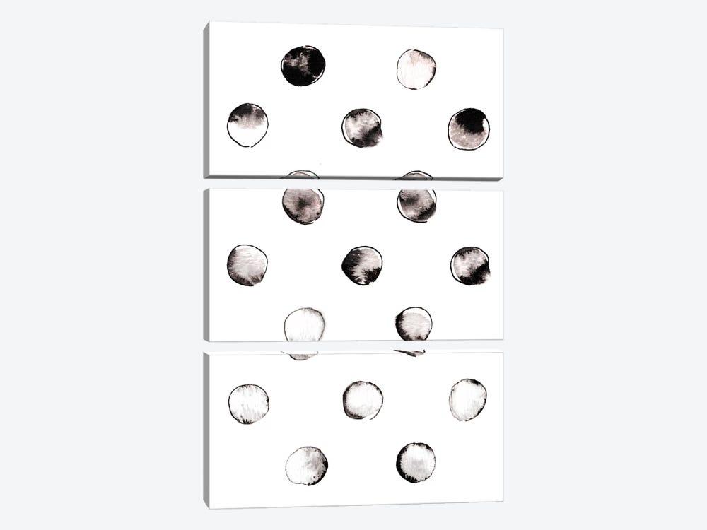 Circles by LEEMO 3-piece Canvas Art Print