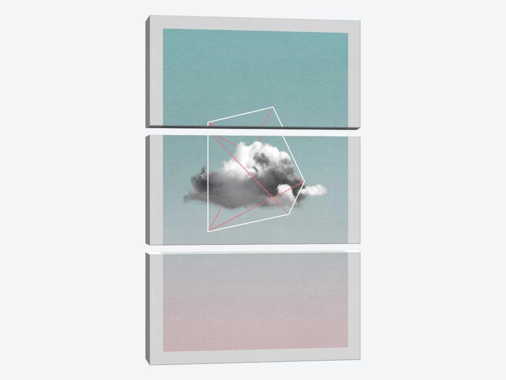 Cloud Storage I by LEEMO 3-piece Canvas Wall Art