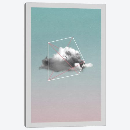 Cloud Storage I Canvas Print #LMO16} by LEEMO Canvas Art