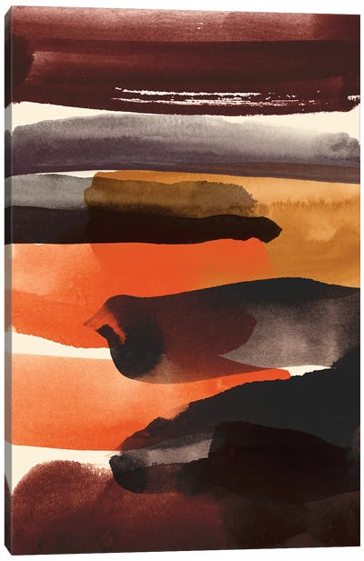 Burnt Sienna Canvas Art Print